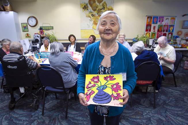 Nevada Senior Services - Adult Day Care Centers of Las Vegas and Henderson - Las Vegas Sun - Adult Day Care Center of Las Vegas instructor sees art make a difference for seniors with Alzheimers