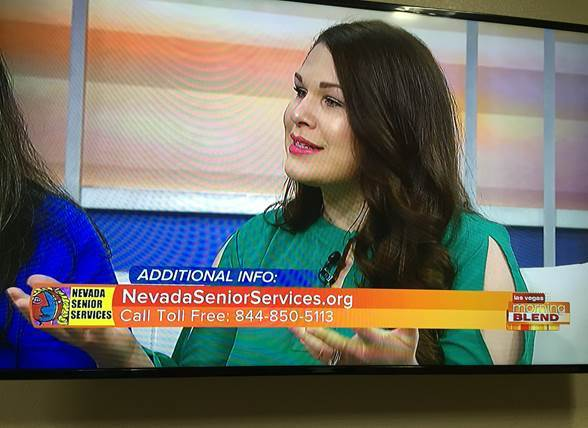 Nevada Senior Services - Adult Day Care Centers of Las Vegas and Henderson - Promoting Senior Services on Channel 13 Morning Blend