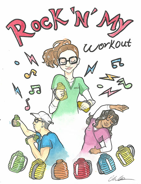 Nevada Senior Services - Adult Day Care Centers of Las Vegas and Henderson - New Exercise Program called Rock