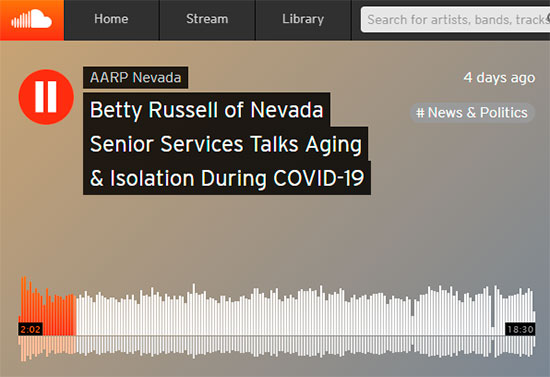 Nevada Senior Services - Adult Day Care Centers of Las Vegas and Henderson - Betty Russell of Nevada Senior Services Talks Aging & Isolation During COVID-19